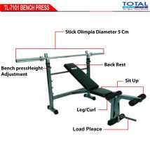 TL7701 BENCH PRESS WITH STICK
