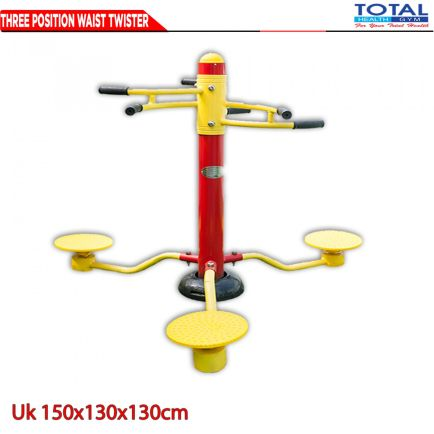 Total Fitness Outdoor THREE POSITION WITH TWISTER 1 three_position_waisttwister
